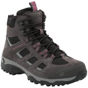 Jack Wolfskin Vojo Hike 2 Texapore Mid-Cut Schuhe Damen dark steel/black